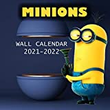2021-2022 MINIONS Wall Calendar: BOB, KEVIN AND STUART High Quality Images (8.5x8.5 Inches Large Size) 18 Months Wall Calendar