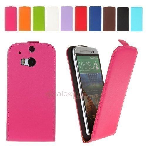 BRALEXX Fliptasche für HTC One M8 Pink