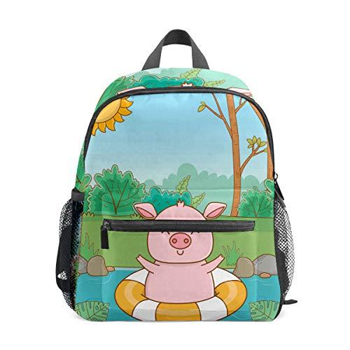 Mochila para niños preescolar, bolsa de escuela para niños de 1 a 6 años de edad, mochila perfecta para niños pequeños a jardín de infancia