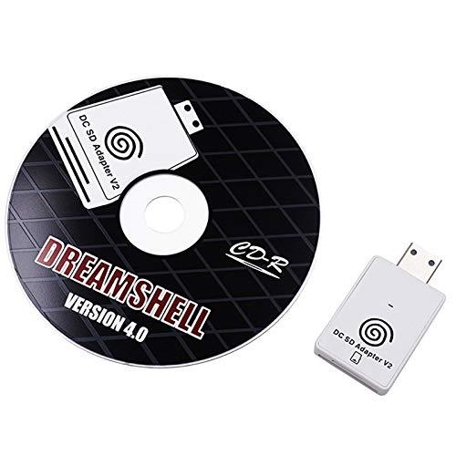 Kaxofang Lector de Adaptador de Tarjeta Tf V2 Voor para Sega Dreamcast en Cd Met Dreamshell Boot Loader