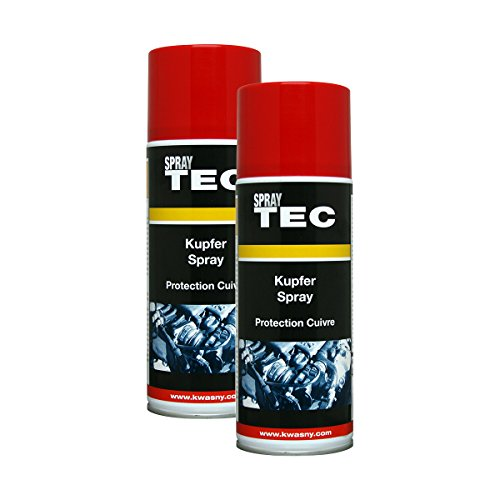 Kwasny 2X 235 040 Auto-K Spray TEC Kupfer-Spray Schutz Bremsen 400ml