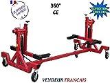 EQUIPEMENT EXPRESS SICOBA Pont elevateur Mobile pivotant 2T Rotissoire Auto Voiture 360°