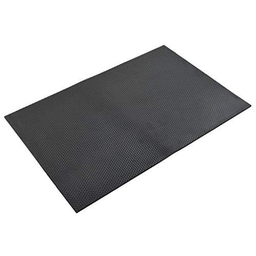 SengentoStyle Vloermat anti-slip 12 mm 1,2x0,8 m rubber kiezel
