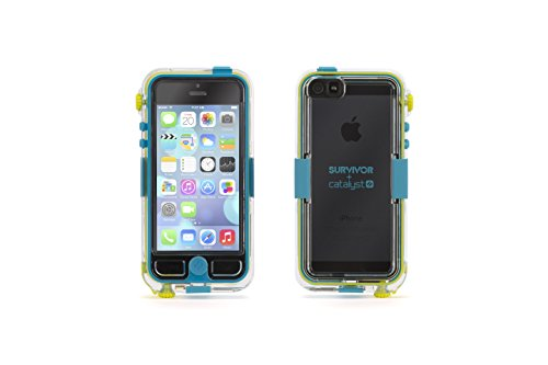 Griffin GB36204 Survivor Waterproof and Catalyst for iPhone 5 - Retail Packaging - Turquoise