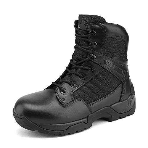 NORTIV 8 Men's Safety Steel Toe Tactical Boots