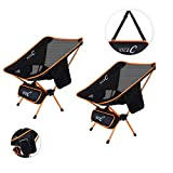 NiceC Ultralight Portable Folding Camping Backpacking Chair Compact & Heavy Duty Outdoor, Camping