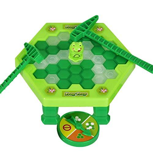 Wenhe Penguin Trap Juego de mesa No rompa el juego de hielo Set de juguetes para niños, juego de escritorio golpeo parte interactiva familia Juego de estrategia