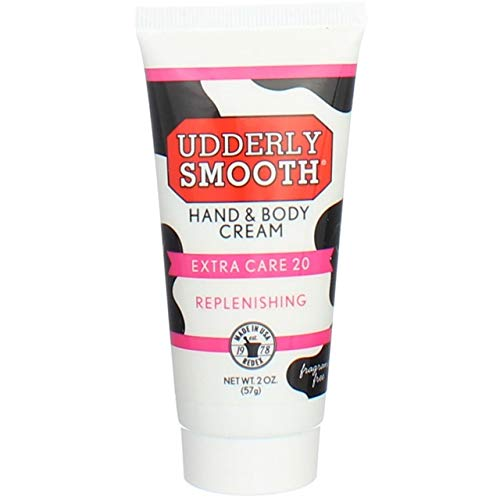 Udderly Smooth Hand & Body Cream Extra Care 20, 2oz Each (Pack of 6)