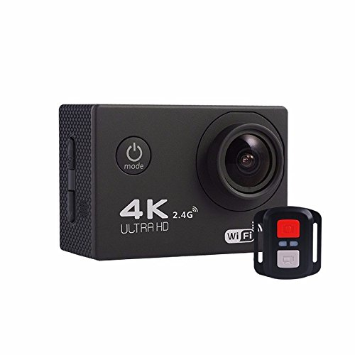 Xiangtat F60R 4K Wifi Waterproof Sports Action Camera with Romote Control, 2.0