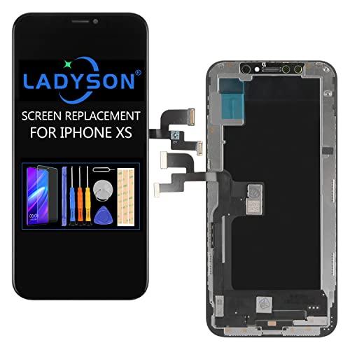 TFT para iPhone XS pantalla LCD de repuesto de 5,8 pulgadas (A1920 A2097 A2098 A2099 A2100) Pantalla LCD Digitalizador de pantalla táctil Full Glsss Kit de reparación de montaje con Glsss templados