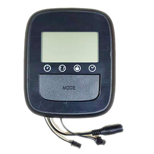 KOUZ LIVE Odemeter for Spin Bikes, LCD Monitor Heart Rate Computer for Exercise Bike