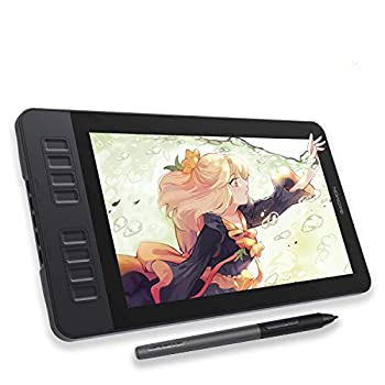 GAOMON PD1161 11.6 Inches Tilt Support Drawing Pen Display with 8192 Levels Pressure Sensitive Battery Free Pen AP50 and 8 Shortcut Keys