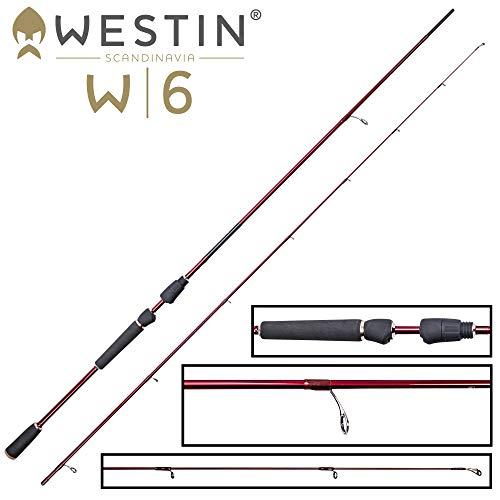 Westin W6 Dropshot ML 2,10m 4-21g - Drop Shot Rute zum Angeln auf Barsche & Zander, Spinnrute zum Dropshotangeln, Barschrute