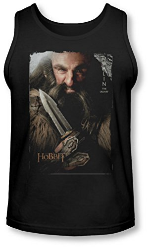 The Hobbit - - Dwalin Tank-Top pour hommes, X-Large, Black
