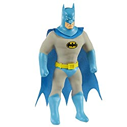 The ultimate detective Batman is back as a new large Stretch figure! Stretch him, pull him, tie him in knots. When you release him he uses his amazing stretch to slowly return to his normal shape. Have super stretchy fun with this Large Batman Stretc...