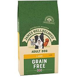 James Wellbeloved Complete Dry Adult Dog Food Lamb and Vegetable, 1.5 kg