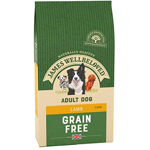 James Wellbeloved Lamb & Vegetable Adult Dog Food 1.5kg