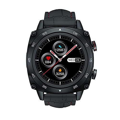 ZGZYL C3 Smartwatch Ejercicio Ritmo Cardíaco Sleep Monitor 5Atm Fitness Rastreador De Fitness para Hombres A Prueba De Agua (para Hombres Y Mujeres) para iOS Android Smart Watch,B