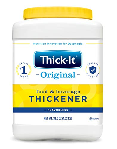 Thick-It Food and Beverage Thickener, Unflavored, 36 Ounce, Kent J585 - Case of 6