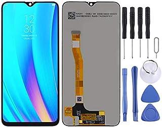 قطع غيار QFH شاشة LCD ومحول رقمي مجموعة كاملة لهاتف OPPO Realme 3 Pro/Realme X Lite طقم من 4 قطع