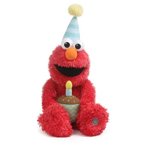 Gund 6054330 Animated Happy Birthday Elmo