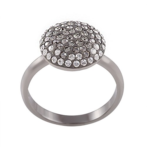 Swarovski 1062632 - Anillo de diamante, color negro