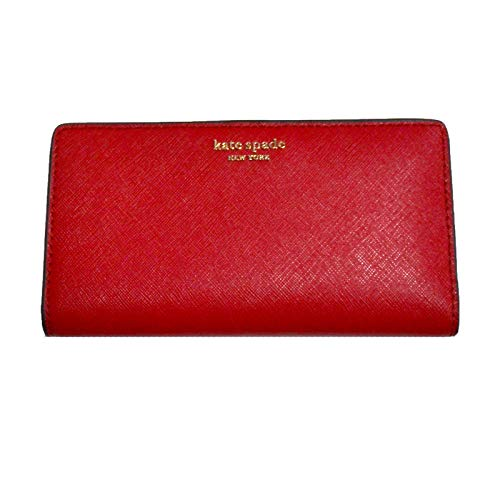 Kate Spade New York Cameron Large Slim Bifold Wallet (Rosso)