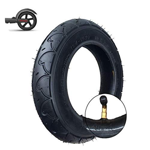 LQUIDE Langlebige Reifen, 10x2.0 aufblasbare Innen- und Außenreifen, 10 Zoll 54-152 Energiesparende, verschleißfeste Reifen, Geeignet für Elektroroller, Kinderwagen-Roller-Ersatzräder