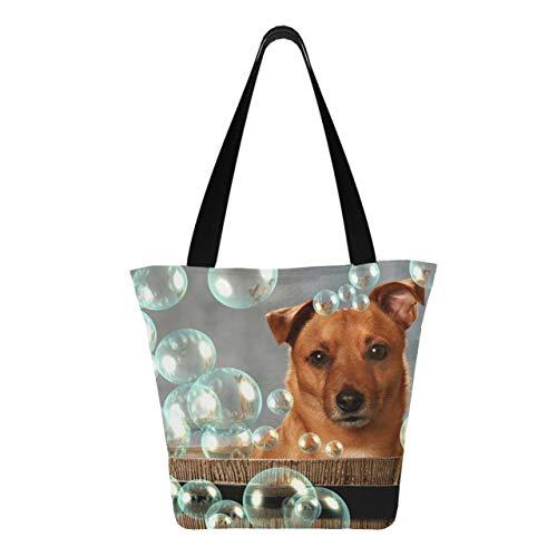 Cute Little Dog Burbujas de barril 11 × 7 × 13 pulgadas...