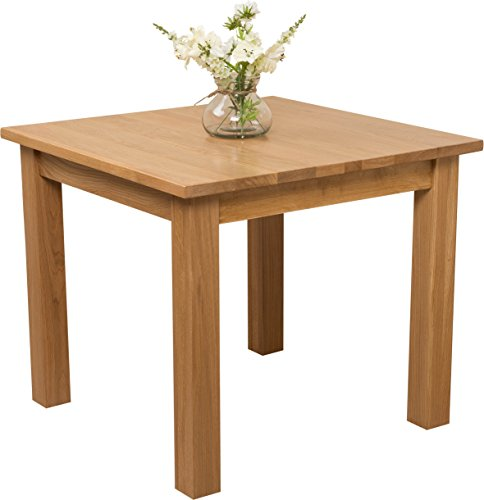 Oslo 90 x 90cm Small Square Dining Table for 4 Seat Dining Table Oak Furniture King