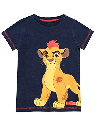 Disney - Tshirt - La Garde du Roi Lion - Garçon - Bleu - 3-4 Ans