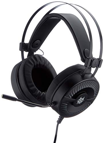 Tracer Battle Heroes Outlaw Gaming Headset mit Mikrofon für PC 50 mm, x2 Mini-Klinke + USB LED-Beleuchtung