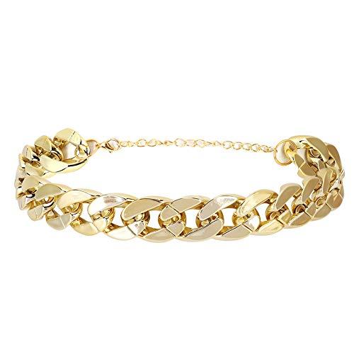 Gold Gliederkette Halskette für Hunde Coole Halsband Halsband Halsband für Kleine Hunde Oder Welpen Schmuck Zubehör für Teddy Französisch Bulldogge