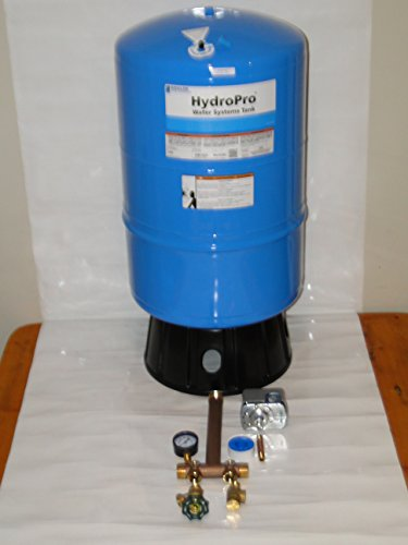 """Goulds V60 HydroPro pressure tank With or Without brass tank tee kit + UNION + Valves Square D fsg2 40-60 (V60Tank + 1""""x11"""" Tee Kit) -  goulds water technology ITT XYLEM"""