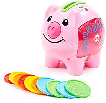 Fisher-Price Laugh & Learn Smart Stages Piggy Bank Cha-ching! Get ready to cash in on playtime fun and learning!