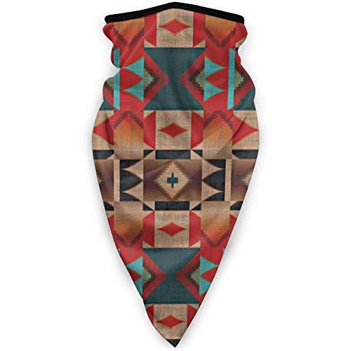 MJDIY bandana met patroon in cabina-design, rustiek, mozaïek, Indisch, Indisch, kleurrijk, 12 in 1 voor klimmen, kamperen, wandelen