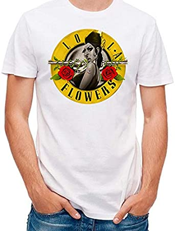 Camiseta Rock Lola Flowers