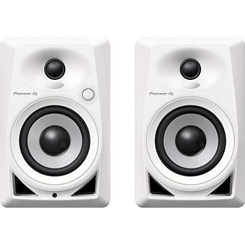 Pioneer Pro DJ, White (DM-40-W)