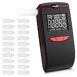 Recensione Migliore oasser Etilometro Portatile Alcool Tester Digitale Ricaricabile con 4 Boccagli Schermo LCD Sensore Semiconduttore T5