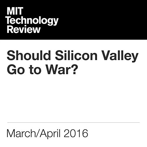 Should Silicon Valley Go to War? audiobook cover art