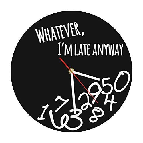 yage Historia del Arte Reloj de Pared Vintage Da Vinci Picasso Van Gogh Museo de Warhol Artista de Arte Moderno Reloj de Pared Decorativo Regalo de Amante del Arte