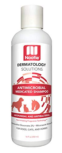 Medicated Dog Shampoo: Antifungal, Antibacterial Dog Shampoo – Lather Then Rinse to Soothe Irritation and Strengthen Coat – Pet Shampoo Also Works On Cats and Horses – Best Dog Shampoo for Your Buck