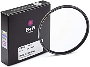 B + W 77mm UV Protection Filter (010) for Camera Lens – Standard Mount (F-PRO), MRC, 16 Layers Multi-Resistant Coating, Photography Filter, 77 mm, Clear Protector