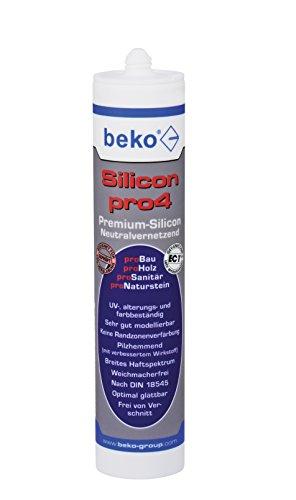 BEKO 22411 Silicon pro4 Premium 310 ml MITTELBRAUN/BUCHE-/EICHE-DUNKEL