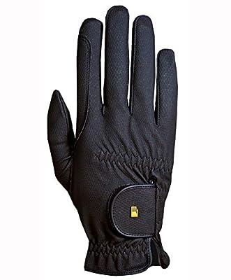 Roeckl Roeck-Grip Unisex Gloves 8 Black from TOKLAT ORIGINALS