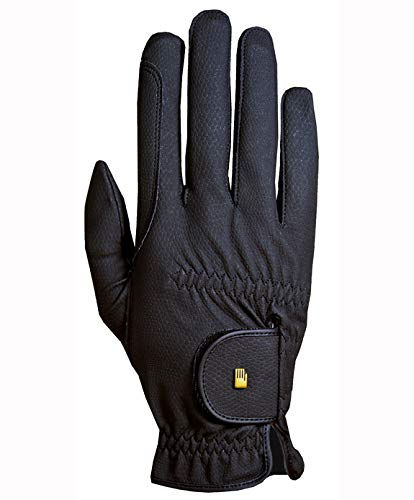 Roeckl Roeck-Grip Unisex Gloves (Black, 6.5)