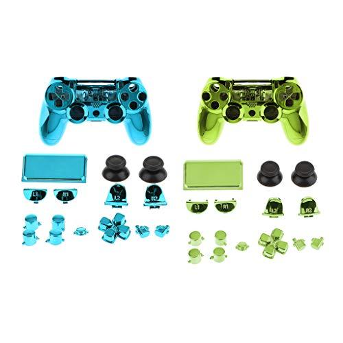 gazechimp Kit De 2 Coques De Remplacement Pour Sony PS4 Pro Controller Button NOUVEAU