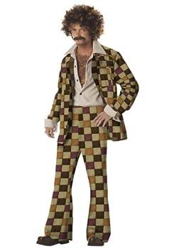Disco Leisure Suit Costume X-Large