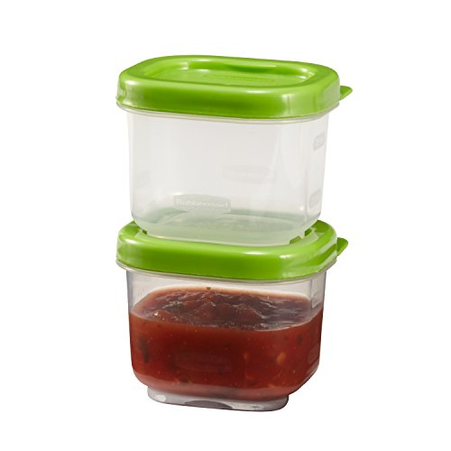 Rubbermaid LunchBlox Snack Container - 0.5 Cup - 2pk