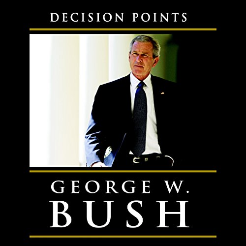 Decision Points audiobook cover art